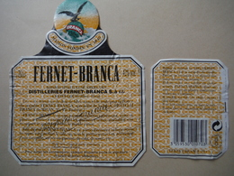Fernet-Branca 75cl - Saint-Louis (68) - ITALIE - Etiketten