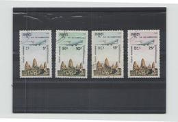 Kampuchea , 1986 Poste Aérienne N° 36 / 39 Oblitére - Kampuchea