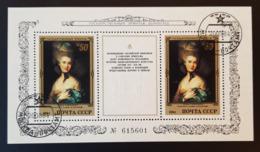 RUSSIA 1984 - BL 174 Thomas Gainsborough: Portrait Of A Lady In Blue - Blocchi & Fogli