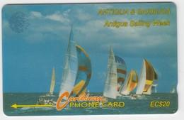 Antigua & Barbuda GPT Phonecard (Fine Used) Code 13CATB - Antigua En Barbuda