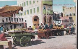 AM43 Port Said, Market Place - Animated, Market Vendors - Port Said