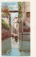 AM43 Venezia, Rio Albrizzi - Art Postcard - Venezia (Venice)