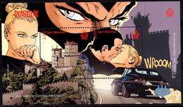 S. Marino 2019 San Marino Comics Diabolik - Blocks & Kleinbögen
