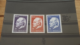 LOT 466111 TIMBRE DE MONACO NEUF**  LUXE N°97 A 99 - Airmail