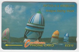Antigua & Barbuda GPT Phonecard (Fine Used) Code 7CATA - Antigua En Barbuda