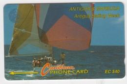 Antigua & Barbuda GPT Phonecard (Fine Used) Code 7CATC - Antigua En Barbuda