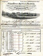 ALLEMAGNE.MANNHEIM.COMMISSIONS & EXPEDITIONS.1834. - Deutschland
