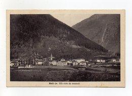 Malè (Trento) - Visto Da Mezzodì - Viaggiata Nel 1948 ? - (FDC16487) - Trento