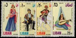 Lebanon 1973 Traditional Costumes Unmounted Mint. - Lebanon