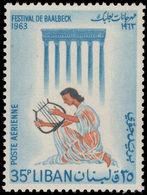Lebanon 1963 Baalbek Festival Unmounted Mint. - Lebanon
