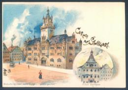 Gruss Aus Stuttgart Altes Rathaus - Stuttgart