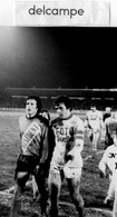 Football -  Photo - Match Laval - Nancy -  DI CARO  -  PLATINI - Un Facteur Commun  L' As Nancy - Lorraine - Sports
