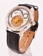 Graf Von Monte Wehro Automata, Naptáros Karóra.  Bőr Szíjjal, újszerű, Működő állapotban - Jewels & Clocks