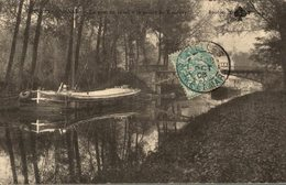 CHELLES GOURNAY LE PONT DU CANAL A LA POINTE DE GOURNAY - Chelles