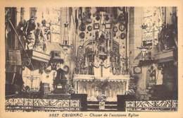 12 - CEIGNAC ( CALMONT ) Choeur De L'ancienne église - CPA Village (2.000 Habitants )  Aveyron - France