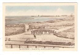 CPA 11 LA NOUVELLE - Entrée Du Port - Vue De La Terrasse Du Préventorium - Port La Nouvelle
