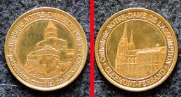 Jeton Touristique - Clermont-Ferrand - Cathédrale ND De L'Assomption & Basilique ND Du Port - Patrimoine Mondial UNESCO - 2019