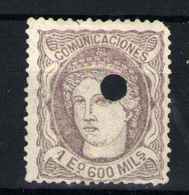 España Nº 111T. Año 1872 - Usados