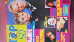 MAGAZINE TOP 50 N° 167. 1989 (POSTER) - People
