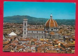 CARTOLINA VG ITALIA - FIRENZE - La Cattedrale Vista Da Palazzo Vecchio - 10 X 15 - 1969 - Firenze