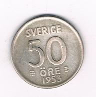 50 ORE  1953 ZWEDEN /5949/ - Suède