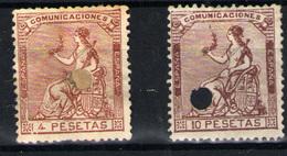 España Nº 139/40T. Año 1873 - 1872-73 Regno: Amedeo I