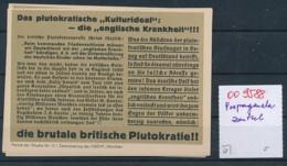 Progadanda Vignette....historisches Dokument  (oo9588  ) Siehe Scan - Germania