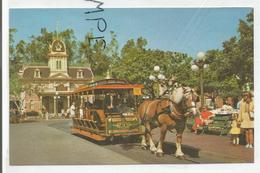Disneyland Californie. The Horse-Drawn Street Car. - Disneyland