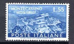 1950  - Italia - Italy - Catg. Unif. . 665 - LH - (W12022012.5) - 6. 1946-.. Repubblica