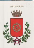 CITTA DI RHO.SETTIMANA INTERNAZIONALE DELLO SPORT.VIAGGIATA-NO-1980-FG-MT.1445 - Rho