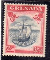 GRENADA 1951 KGVI DEFINITIVES $ 2.50 MNH - Grenada (...-1974)