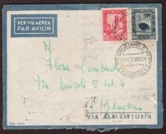 Somalia 1939 Pittorica 2,55 £ + 20c. Dent 14 (226,217) Su Aerogramma Da Diredaua 19/10/39 A Genova VF/F - Somalia