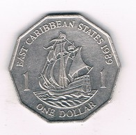 ONE DOLLAR  1989 EAST CARIBBAEN STATES /5956/ - Monnaies