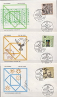 Germany Set On 3 FDCs From 1984 - Post