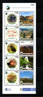 COLOMBIA, 2019 ,BIRDS, ANIMALS, MOUNTAINS, S/S, MNH **NEW! - Vögel
