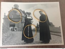 Grammont Photo D'époque La Chapelle De La Montagne Curé Et Sœur Nom Inscrit à L'arrière - Cartes Postales