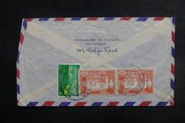 BIRMANIE - Affranchissement Plaisant  Au Verso D'une Enveloppe De L 'Ambassade De France à Rangoon - L 38058 - Myanmar (Burma 1948-...)