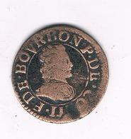 DOUBLE TOURNOIS 1612? FRANKRIJK  /5960/ - 1610-1643 Louis XIII Le Juste