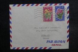 CAMBODGE - Affranchissement Plaisant Sur Enveloppe Pour La France En 1962 - L 38061 - Camboya