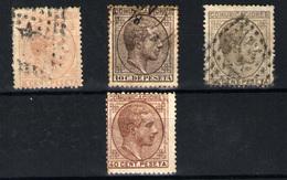 España Nº 191/2, 194, 195. Año 1878 - Nuevos