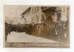 Trento - 4.11.1918 - In Attesa Di S.E. Il Governatore - (FDC16489) - Trento