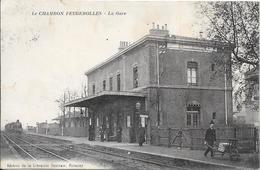 Le CHAMBON FEUGEROLLES - La Gare - Le Chambon Feugerolles