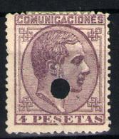 España Nº 198T. Año 1876 - Nuevos