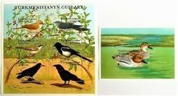 Turkmenistan 2002**Mi.168-173 + Bl.22 Birds , MNH [17II;28] - Vögel