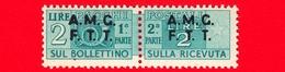 Nuovo - MNH - ITALIA - Trieste - AMG FTT - 1947-48 - Corno Di Posta, Soprastampa Su Due Righe - Pacchi Postali - 2 - 7. Triest
