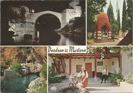 DOZDRAV IZ MOSTARA.  (scan Verso) - Yougoslavie