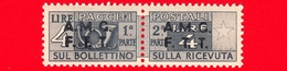 Nuovo - MNH - ITALIA - Trieste - AMG FTT - 1947-48 - Corno Di Posta, Soprastampa Su Due Righe - Pacchi Postali - 4 - 7. Triest