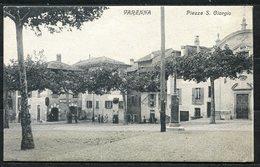 CV2754 VARENNA (Lecco LC) Piazza S. Giorgio, FP, Viaggiata 1910 Per Piacenza, Ottime Condizioni - Lecco