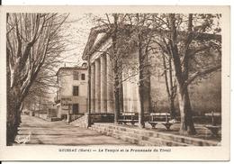 LE TEMPLE ET LA PROMENADE DU TIVOLI - Quissac