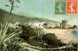 CORSE - CAP CORSE - Vue Colorisée De La MARINE DE MIOMO Près De BASTIA - Autres Communes